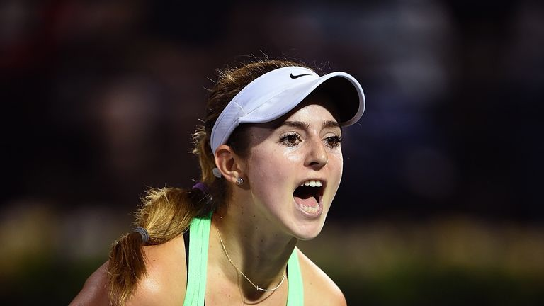 CiCi Bellis: upsets continue at WTA Dubai Tennis Championships