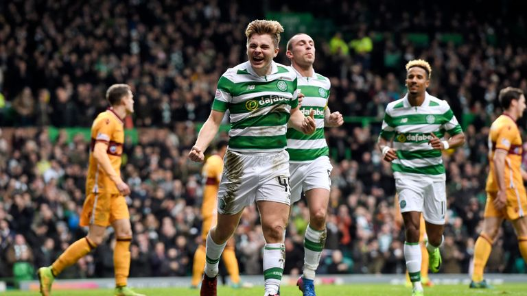 James Forrest made it 2-0 to Celtic