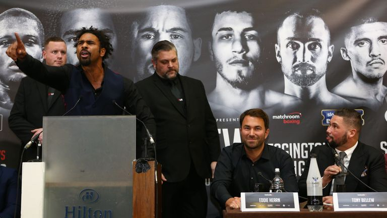 David Haye and Tony Bellew went to war, outside the ring
