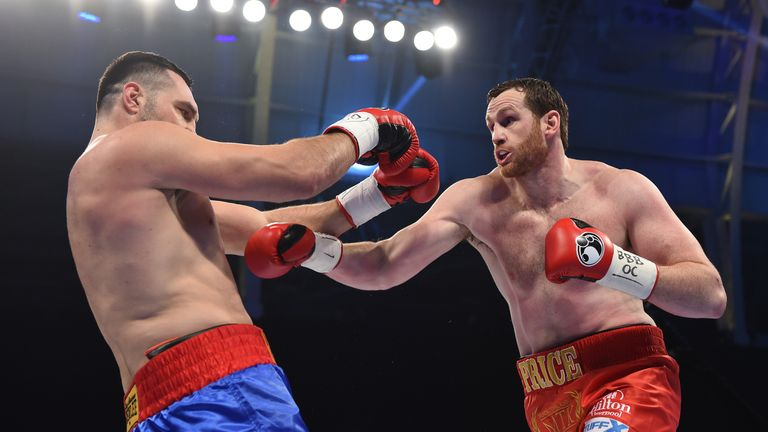 Price could not find a knockout punch after flooring Hammer in the fifth round