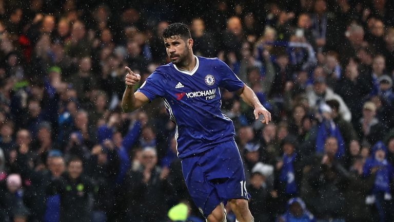 Diego Costa has been left out of Chelsea's Far East tour