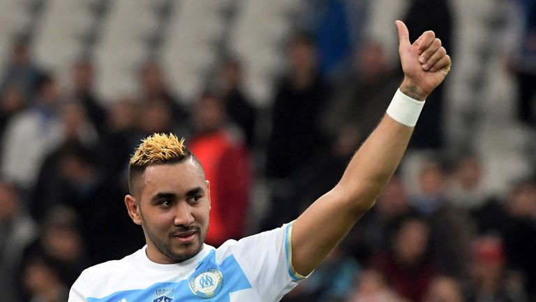 Dimitri Payet scored on his first start after returning to Marseille in January
