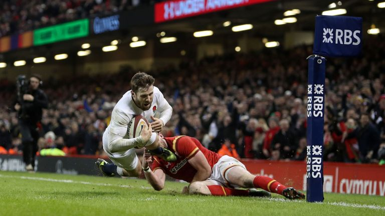 England's late win over Wales was Stuart Barnes' game of the championship