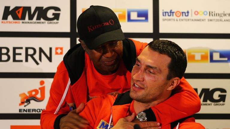 Trainer Emanuel Steward helped Klitschko rebuild his style after two defeats in quick succession