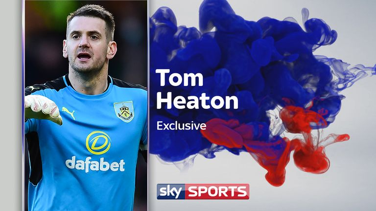 Tom Heaton speaks exclusively to Sky Sports' Pat Davison