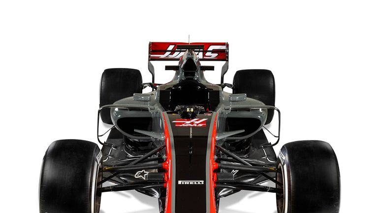 Haas unveils new vehicle for its 2nd season in F1