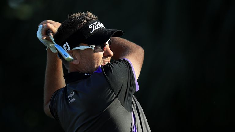 Ian Poulter fired a flawless 66 and hit one of the shots of the day at the third