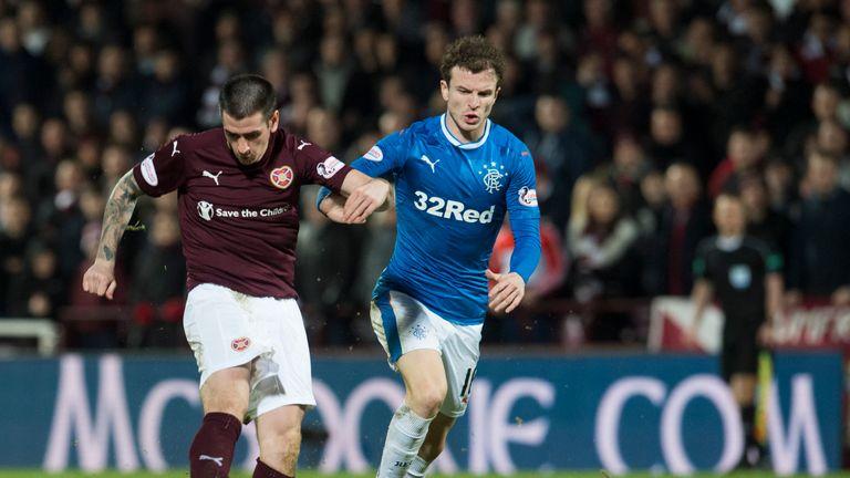 Jamie Walker puts his side 2-1 up against Rangers