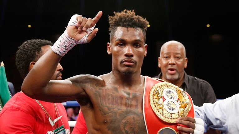 Undefeated Jermall Charlo is a former IBF super-welterweight world champion