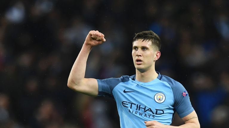 John Stones became the second most expensive defender in history - behind David Luiz