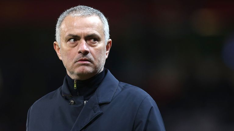 Mourinho was critical of his team's slow start