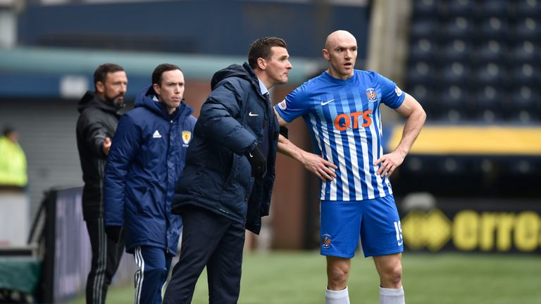 Conor Sammon scored Kilmarnock's opener against Ross County