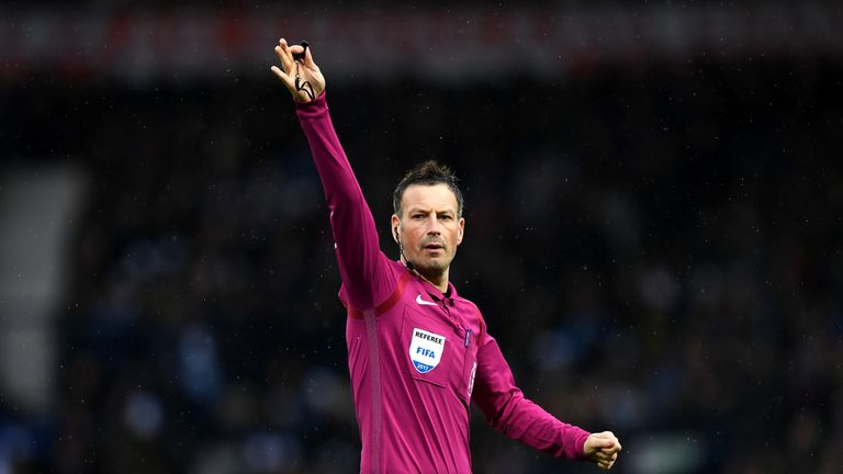 Mark Clattenburg left the Premier League to take a position in Saudi Arabia