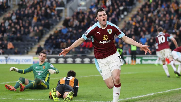 Michael Keane is set to leave Burnley this summer but what are his options?