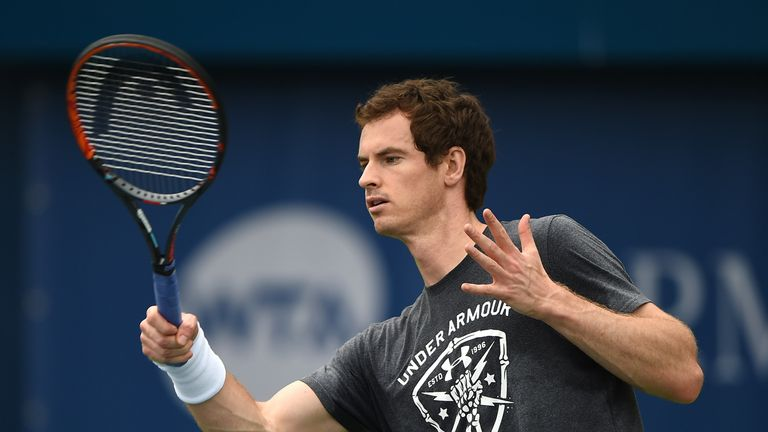 Andy Murray will hope to bounce back from his Australian disappointment in Dubai