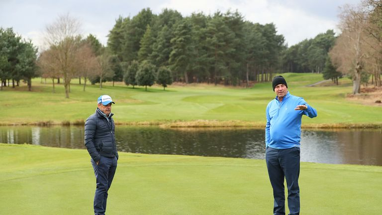 Thomas Bjorn and Paul McGinley were heavily involved in the renovation of the West Course