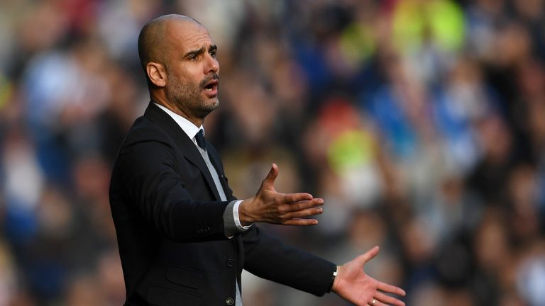 Guardiola blasts Huddersfield pitch following Man City blank