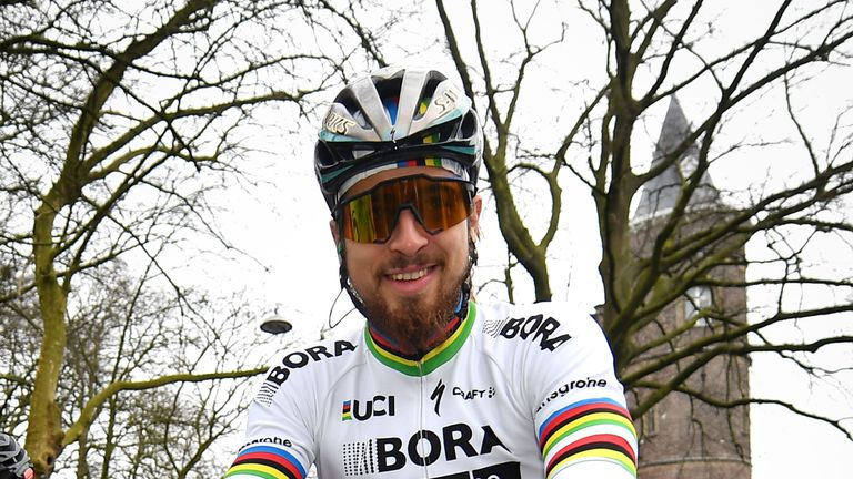 Peter Sagan was beaten into second place