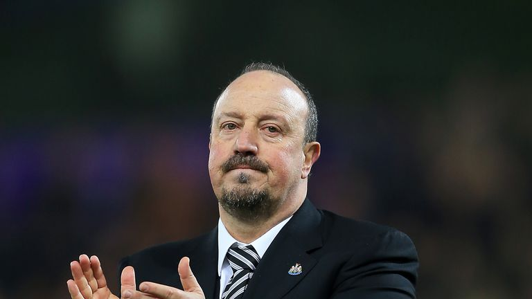 Rafael Benitez remains positive about Newcastle's automatic promotion push despite drawing 0-0 with Birmingham