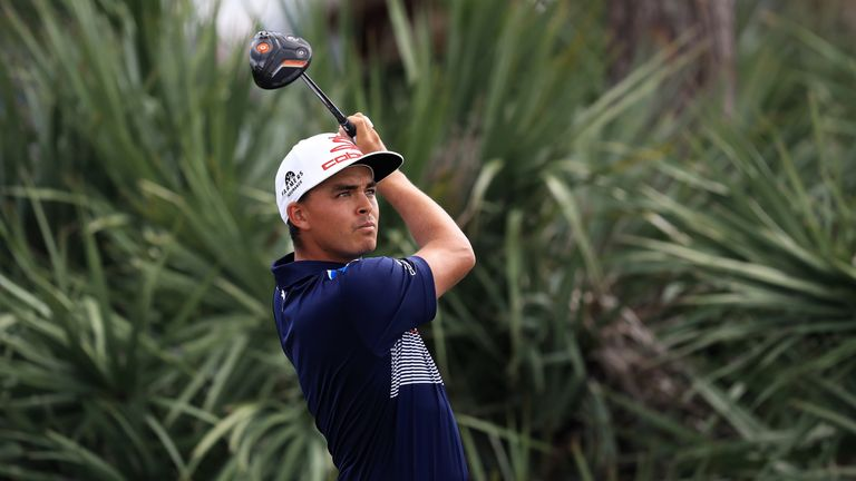 Rickie Fowler opened up a commanding lead after firing a 65