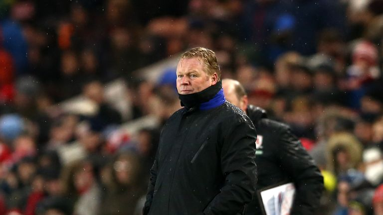 Koeman not interested in Everton renewal amid Barca links
