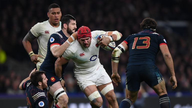 James Haskell was unable to force his way into an ultra-competitive back row