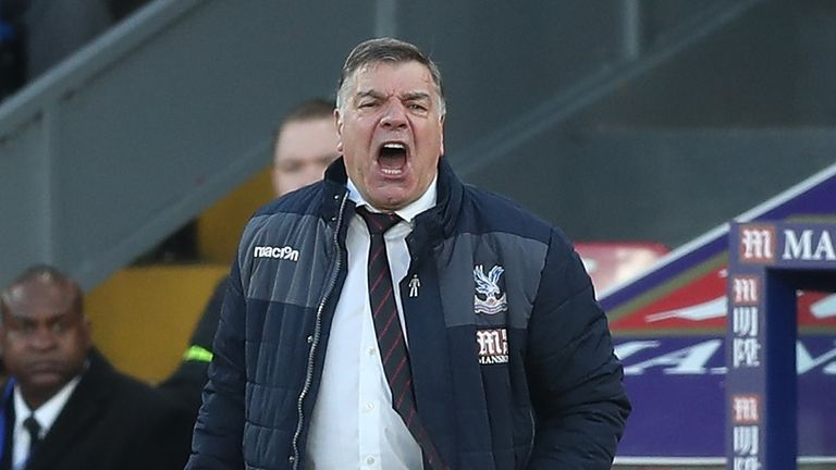 Sam Allardyce is looking for his first back-to-back wins with Palace