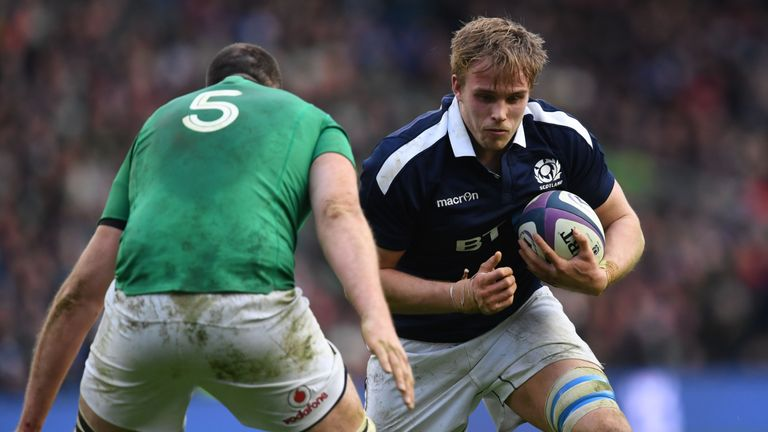 Jonny Gray had been tipped to tour with the Lions