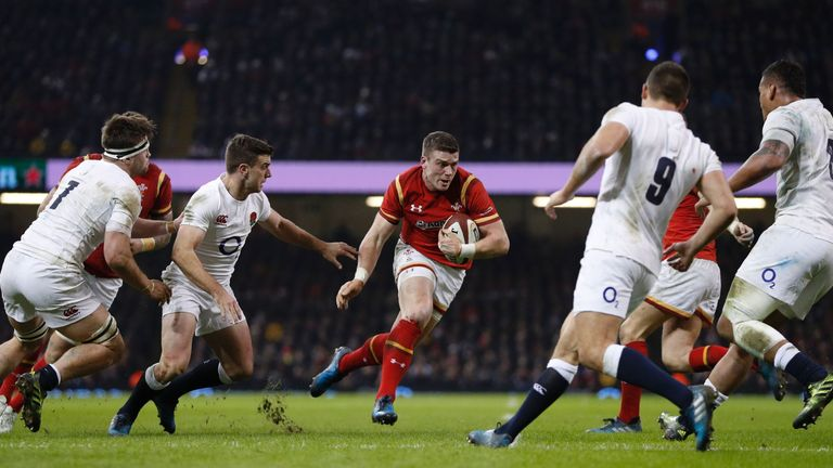 Scott Williams made 10 carries at the Principality Stadium on Saturday