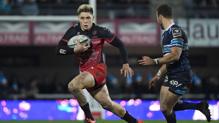 James O'Connor in action for Toulon