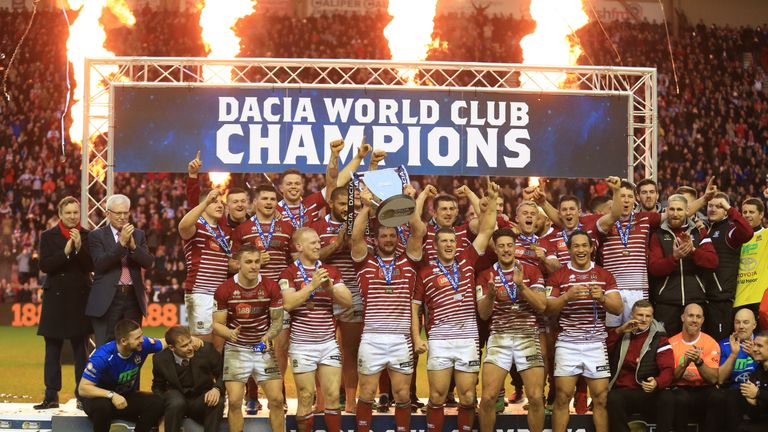 Wigan Warriors, winners of the 2017 Dacia World Club Series, will play Hull FC in Australia