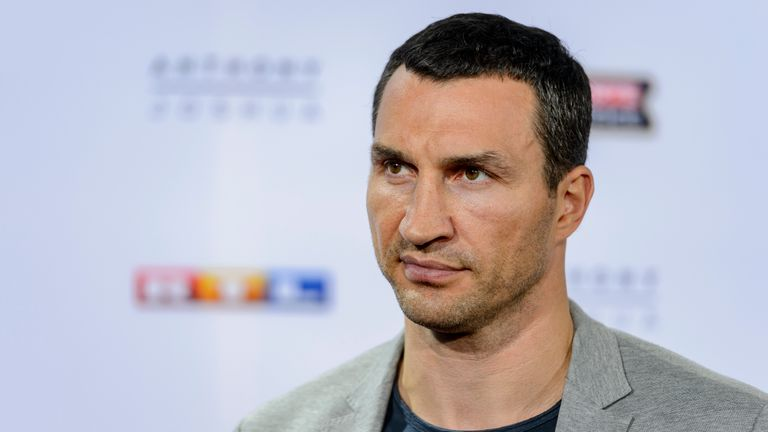 Klitschko says the respect from Joshua has been 'refreshingly different'