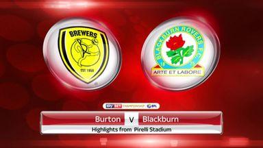 Burton 1-1 Blackburn