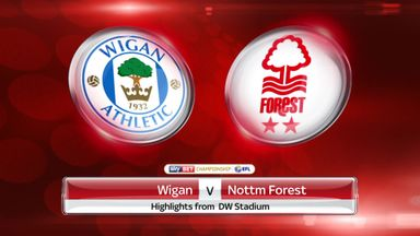 Wigan 0-0 Nott'm Forest