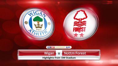 Wigan 0-0 Nott'm Forest