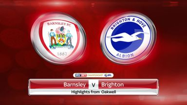 Barnsley 0-2 Brighton
