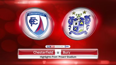 Chesterfield 1-2 Bury