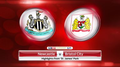 Newcastle 2-2 Bristol City