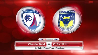 Chesterfield 0-4 Oxford