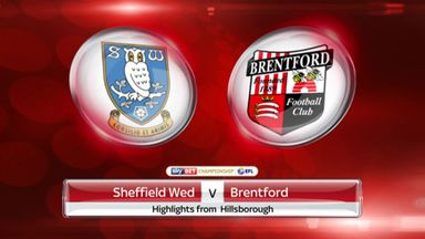 Sheff Wed 1-2 Brentford