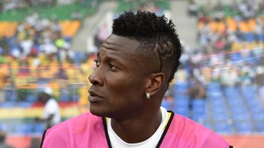 Asamoah Gyan is one of 40 players to fall foul of the guidelines