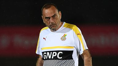 Avram Grant's Ghana were beaten in the Africa Cup of Nations semi-finals