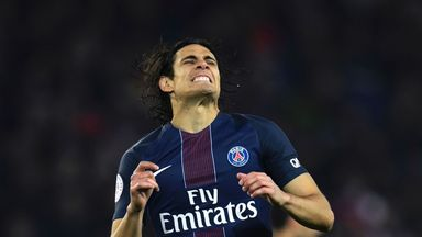 Paris Saint-Germain's Uruguayan forward Edinson Cavani failed to fire against Toulouse