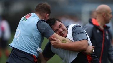Dylan Hartley and Jamie George have been keenly contesting the England number two jersey