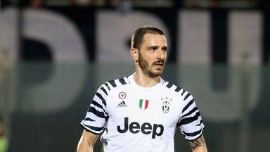 Leonardo Bonucci won six consecutive Serie A titles with Juventus