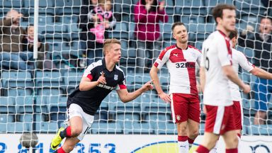 Dundee won their first game of 2017 as they beat Rangers on Sunday afternoon