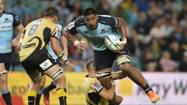 Will Skelton carries for the Waratahs