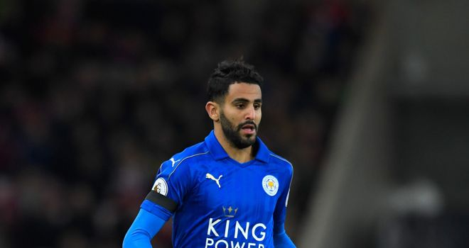 Roma still want Leicester City winger,Mahrez but looking at other options