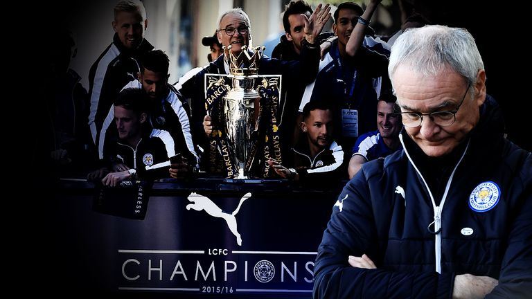 Leicester have sacked Claudio Ranieri, the man who delivered the 2015/16 Premier League title.