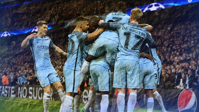 Manchester City beat Monaco 5-3 in the Champions League last-16 first leg at the Etihad Stadium [Feature image]